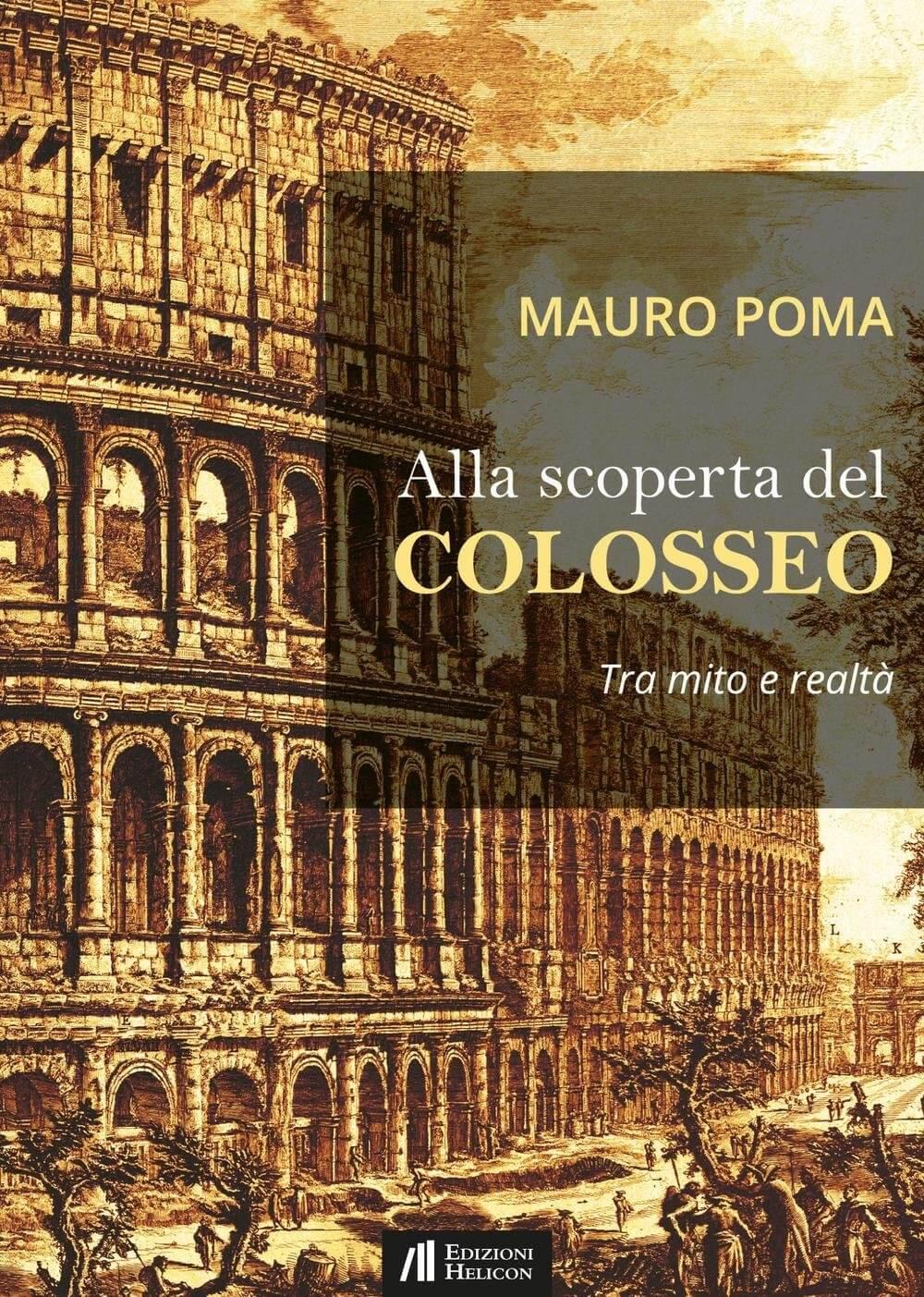 Realizzazione copertine libri Alla scoperta del Colosseo