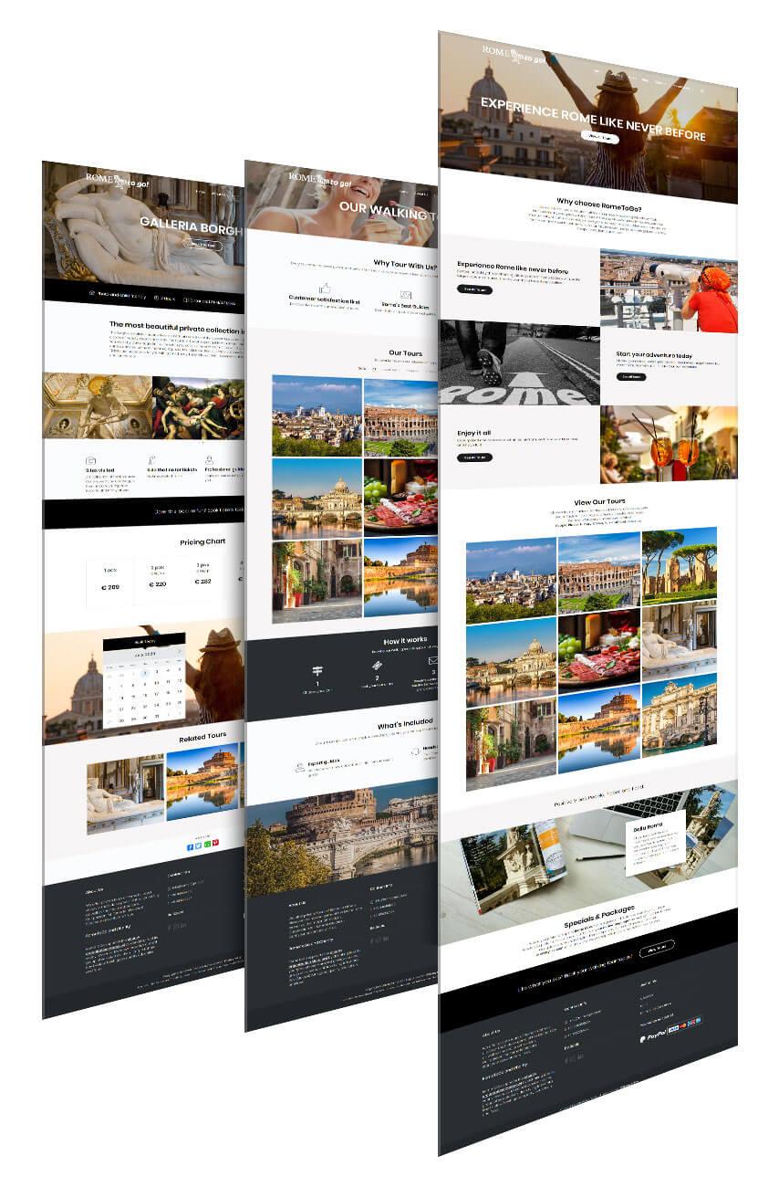 Realizzazione siti web per guide turistiche