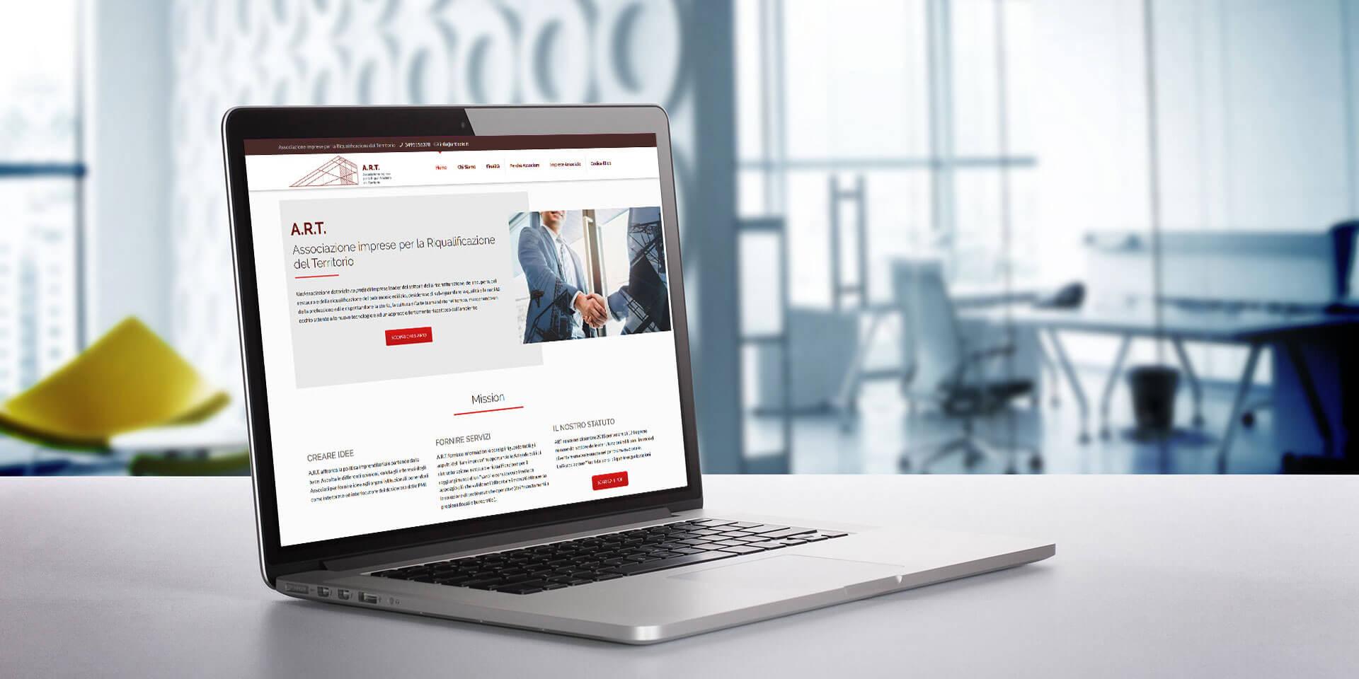 Creazione siti web aziendali a ROMA